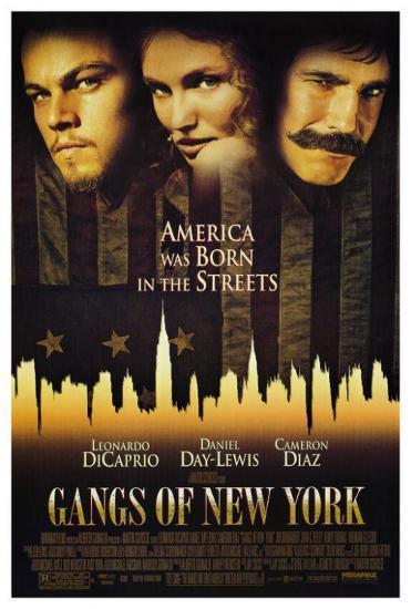 gangs of new york martin scorsese movie poster