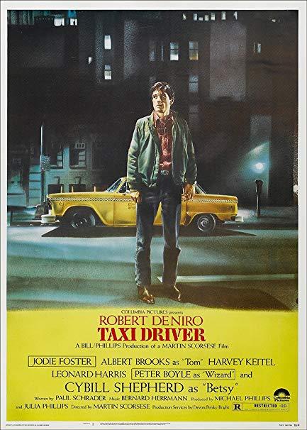 robert de niro taxi driver poster martin scorsese
