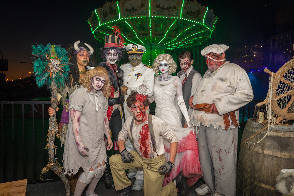 Dark Harbor characters