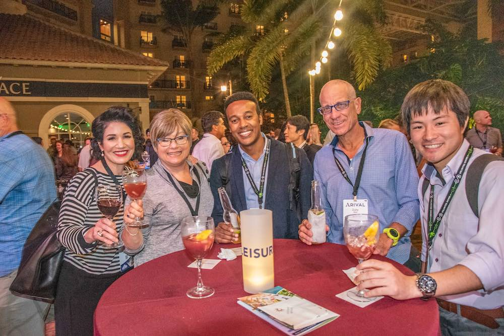 Guests enjoying the Arival Orlando Party