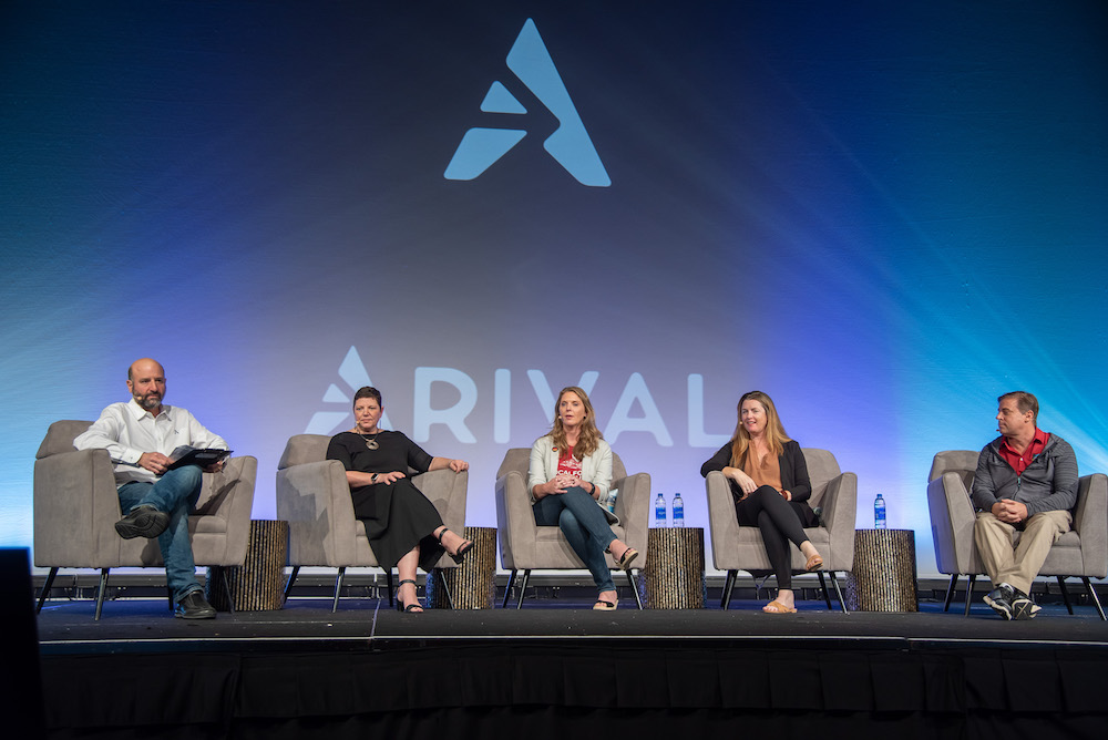 Panel speakers at Arival Orlando 2019