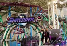 shredder nickelodeon universe ride entertainment