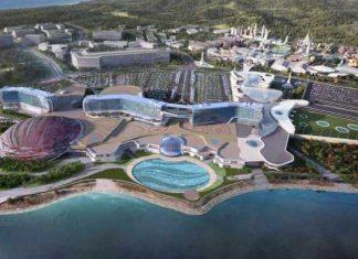 Paramount korea theme park at Inspire IR by Mohegan