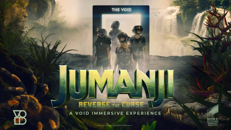 jumanji sony the void VR