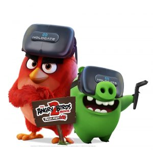 Angry Birds HOLOGATE