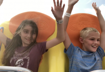 Kids on Todal Wave Jenkinson's Boadwalk captured by NXT Capture Video Imaging