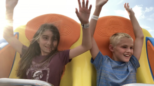 Kids on Todal Wave Jenkinson's Boadwalk captured by NXT Capture Video Imaging