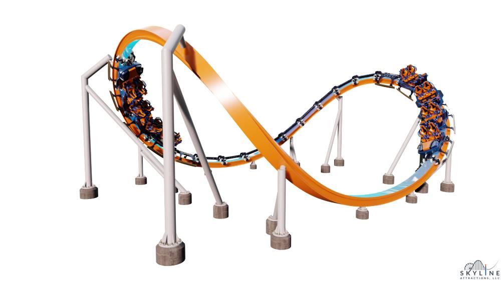 Design of Skywarp Orbit ride