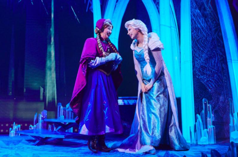 disneyland paris frozen musical invitation