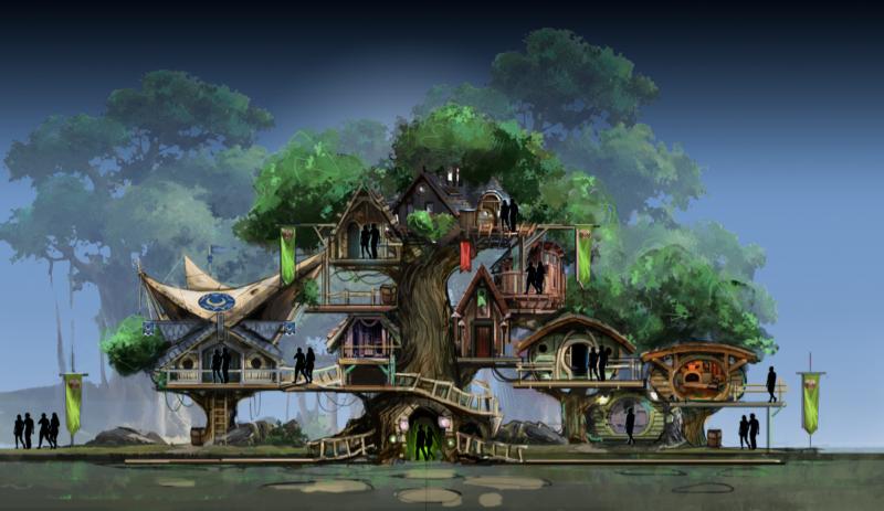 ancient lore village