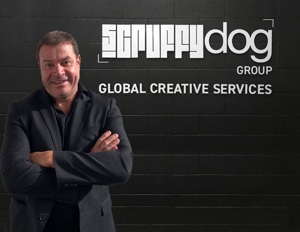 headshot of Jim Bowen at scruffy dog creative
