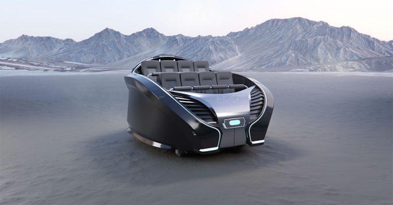 cavu self driving vehicle