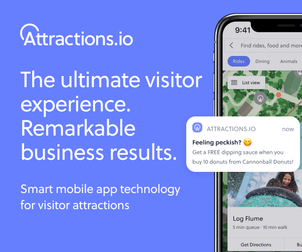 attractions.io visitor experience app