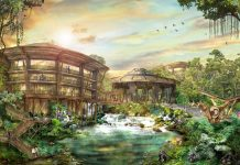 Discovery Jungle Resort concept art by Rhetro & Co