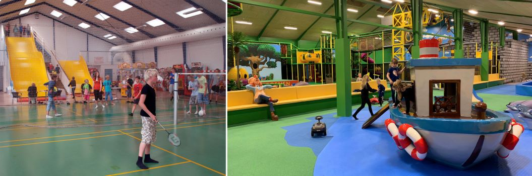 mk themed attractions before and after new theming childrens play area