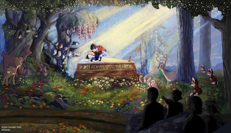 snow white's scary adventures