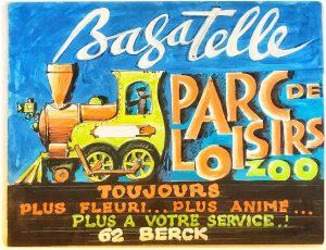 Looping Parc Bagatelle vintage poster