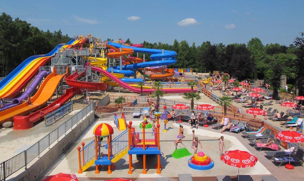 Hellendoorn's summer slide park in the Netherlands