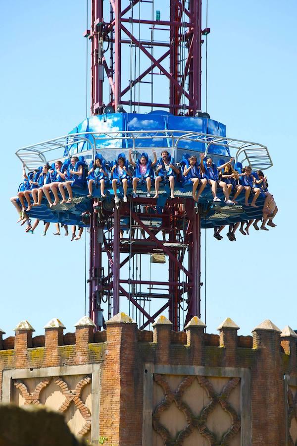 Isla Magica tower ride