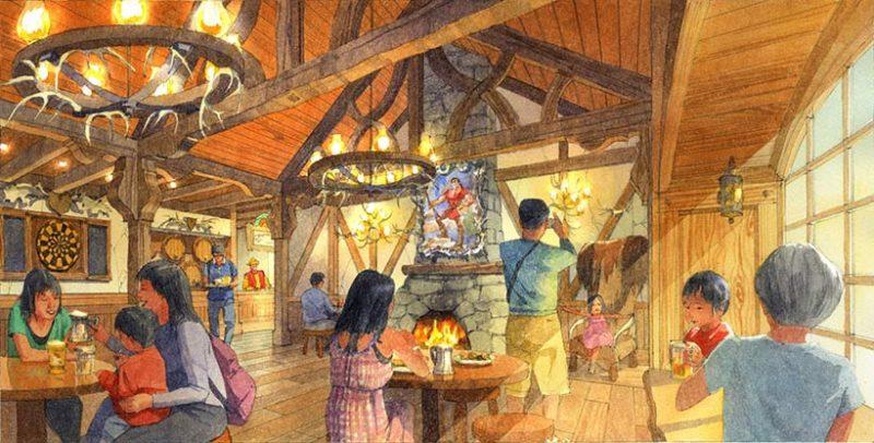 tokyo disneyland gaston taverne
