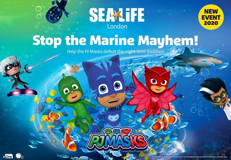 sea life pj masks