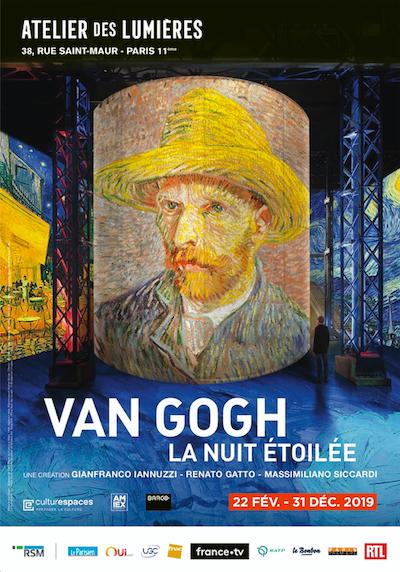 Atelier des Lumières Van Gogh poster