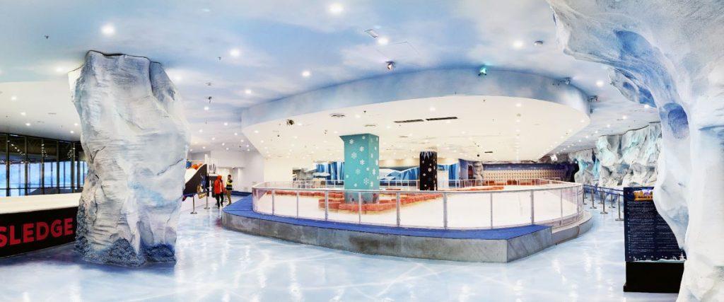 Interior of ICE NOW Frostland