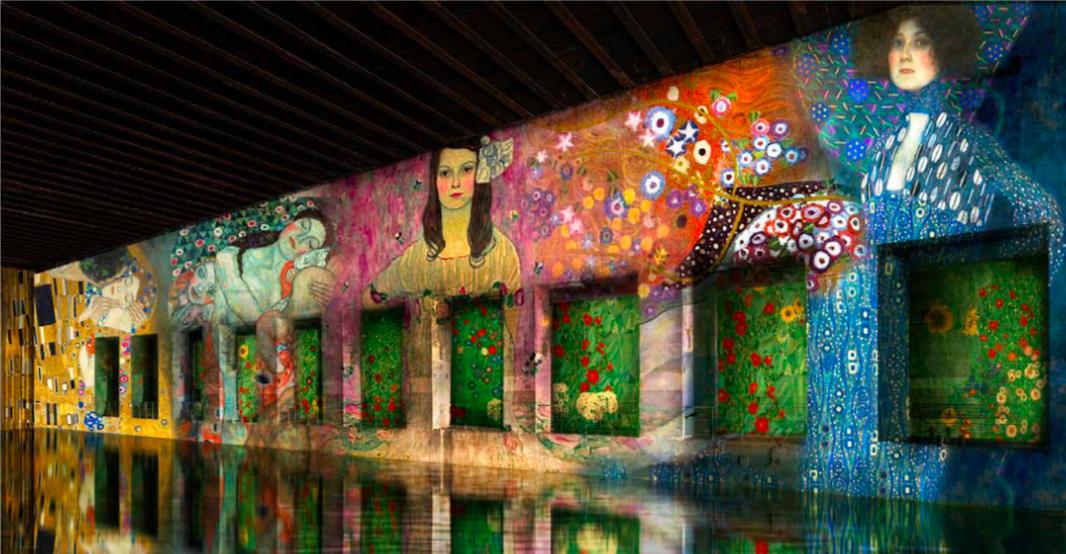 Bassins de Lumières Bordeaux simualtion