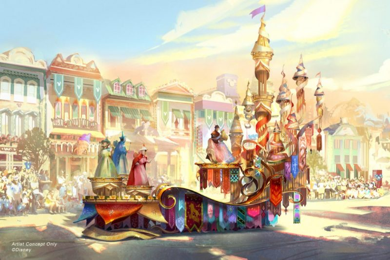 magic happens parade disneyland