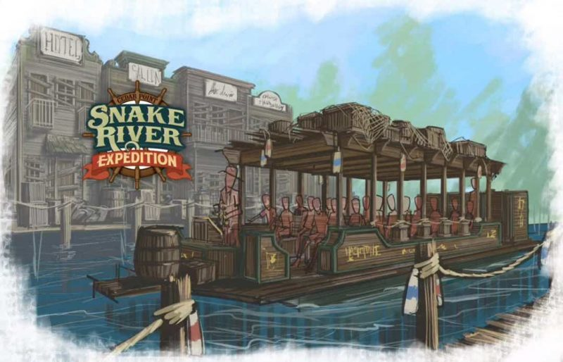 cedar point snake river expedition