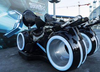 tron lightcycles magic kingdom
