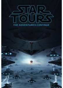 Star Tours attraction poster disney parks