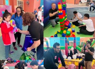 Embed fun day at Senses