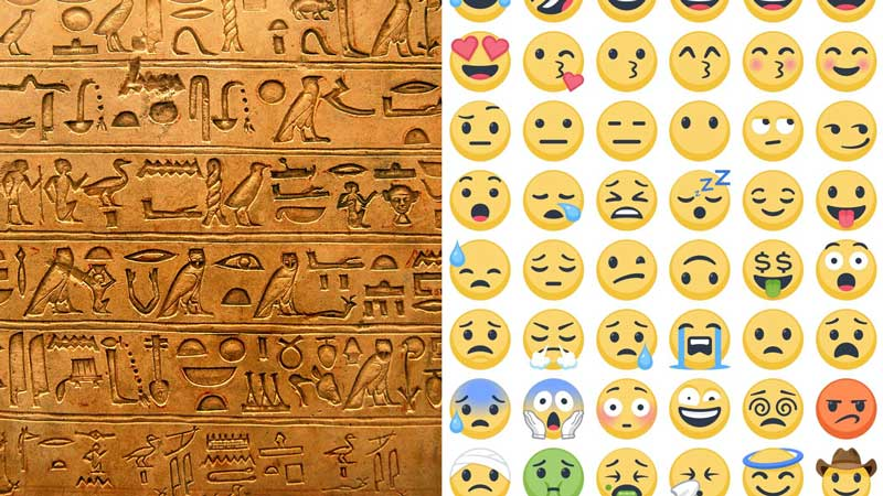 Risultati immagini per Emoglyphs