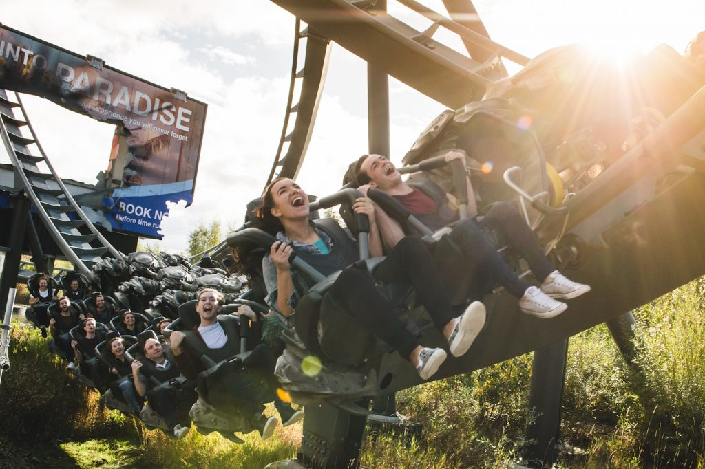 swarm wing coaster thorpe park - will theme parks have to cater to more thrill-seekers after covid-19?