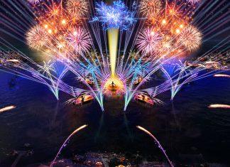 Epcot HarmonioUS nighttime spectacular