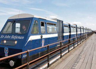 Severn Lamb Southend pier train
