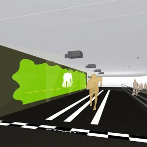 project:syntropy interactive race tunnel