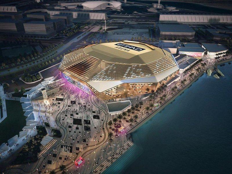 etihad arena yas island