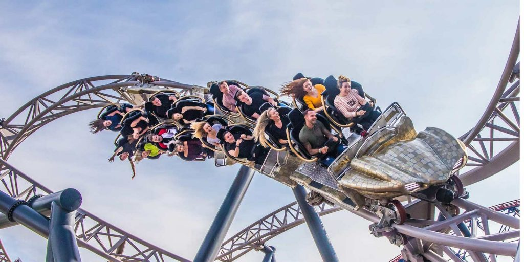 How will coronavirus impact LBE attractions, such as Blackpool's Icon rollercoaster