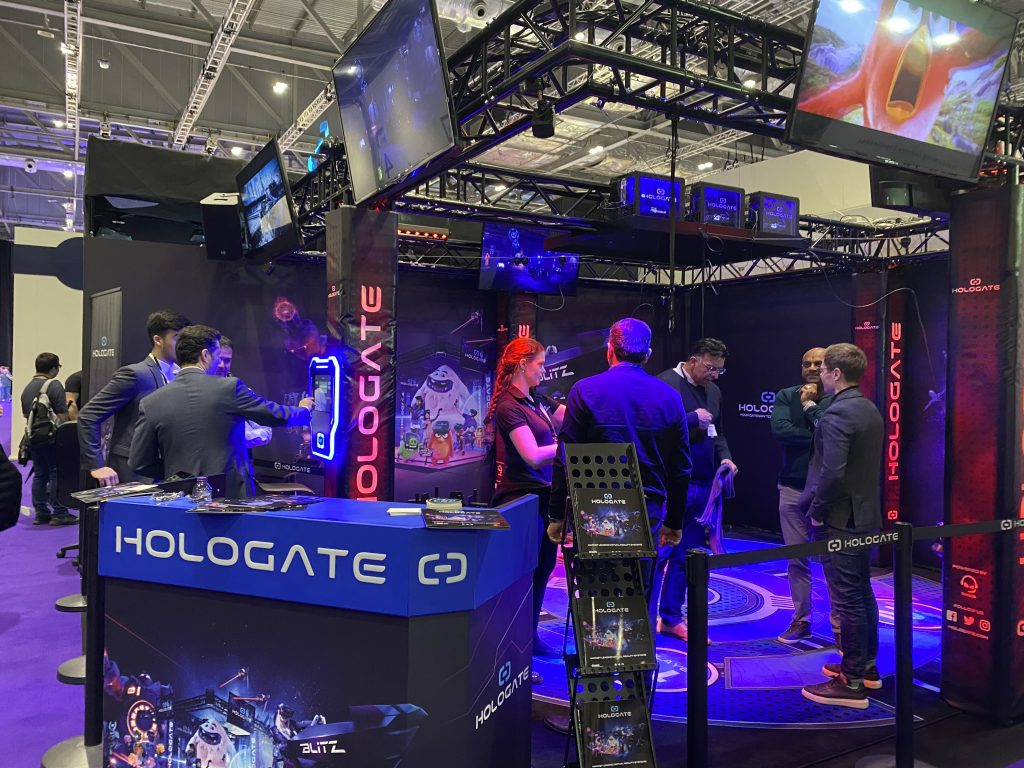 Hologate arena at EAG expo
