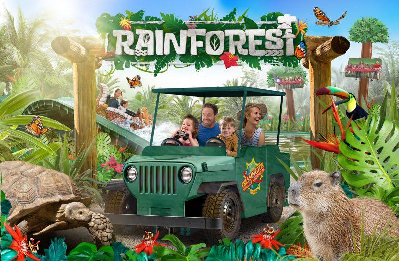 chessington rainforest land