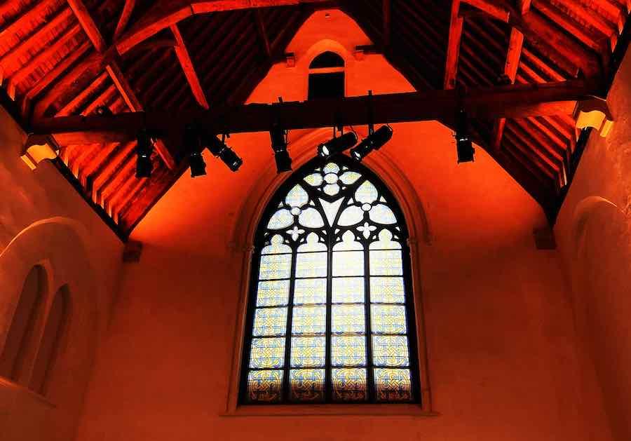 Holy Ghost Chapel Mechelen, sit eof The Art Hour show