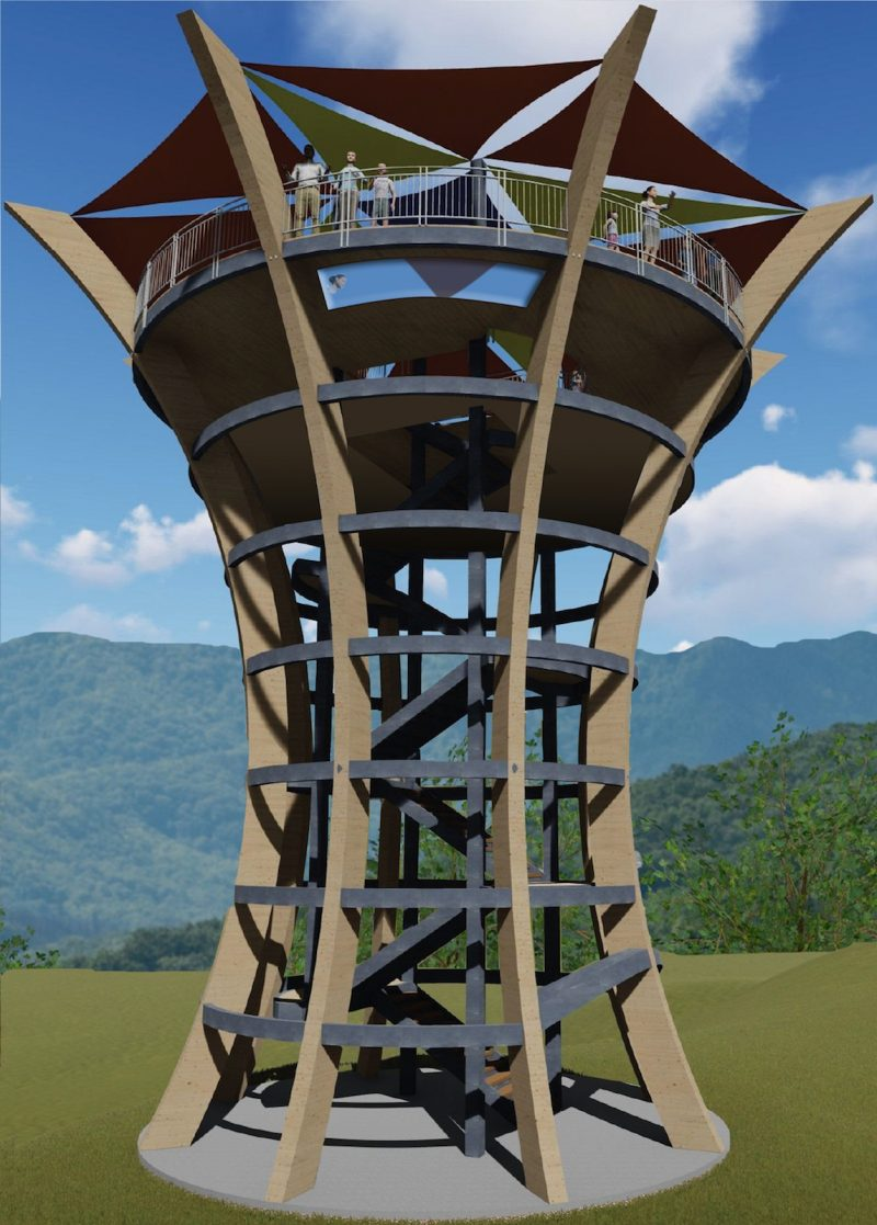 anakeesta theme park observation tower