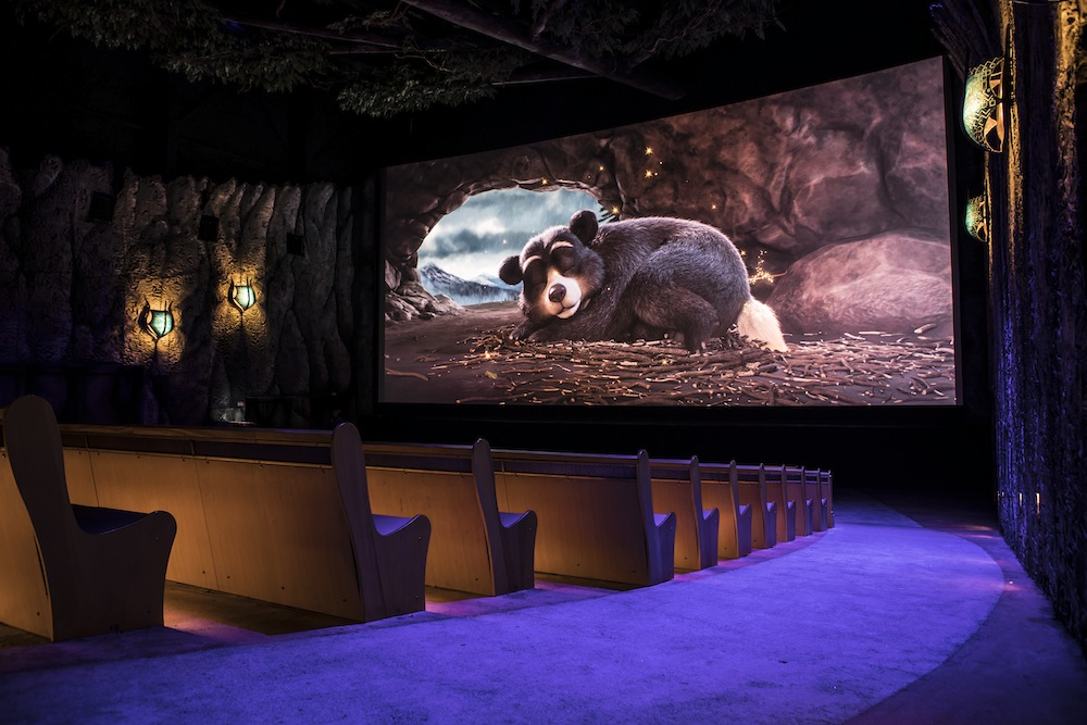 Efteling - Fabula film room