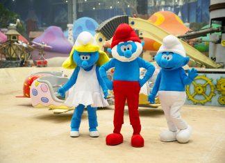 dream island theme park moscow smurfs