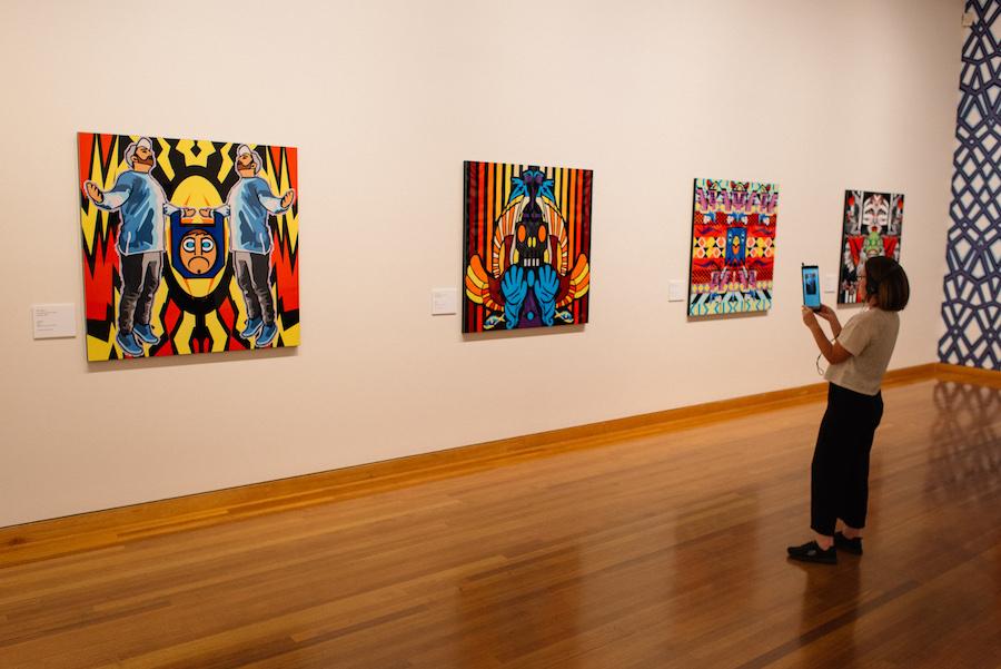 Josh Muir's WHAT'S ON YOUR MIND exhibition at Bendigo Art Gallery