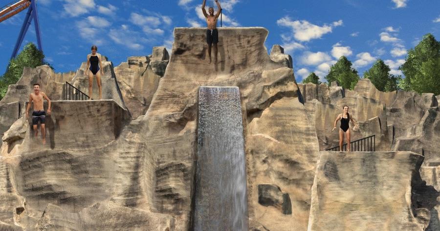 Mountain Bay Cliffs at Canada's Wonderland