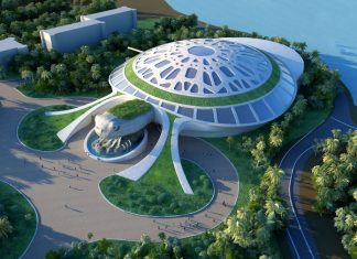 Vinpearl Land Phu Quoc's Sea Shell, one of the aquarium projects designed by Legacy Entertainment