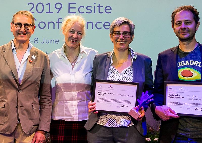 Mariano Gago Ecsite Award Winners 2019